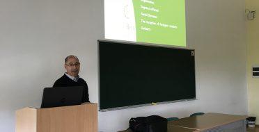 The visit of prof. Carlos Ribeiro in ASU